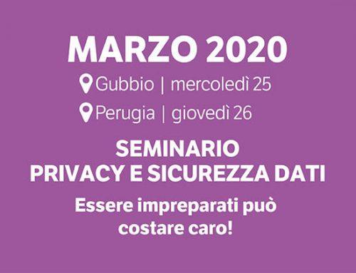 Seminario Privacy 2020